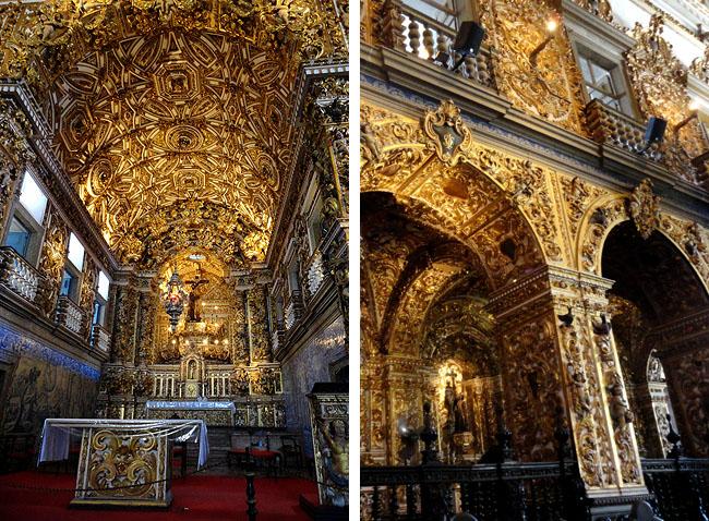 Igreja Sao Francisco Salvador Pontos Turísticos Ouro