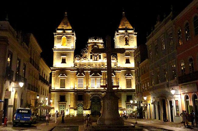 Igreja Sao Francisco Salvador Pontos Turísticos 06