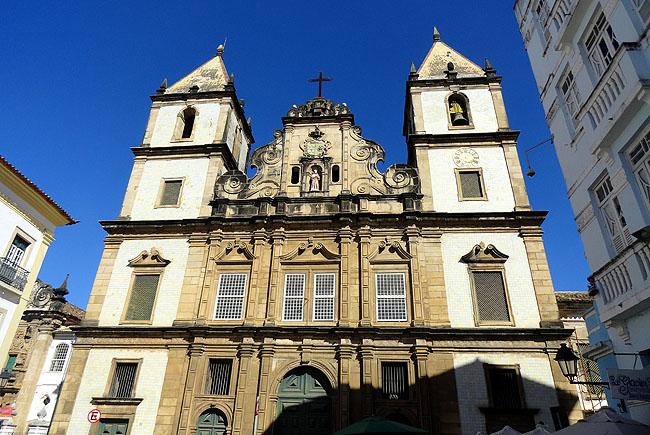 Igreja Sao Francisco Salvador Pontos Turísticos 07