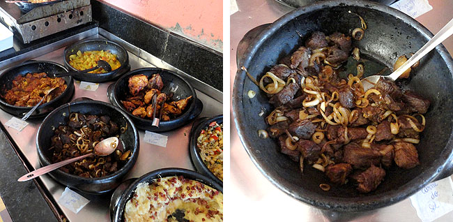 Restaurante Cacarola Aracaju comida regional sergipe