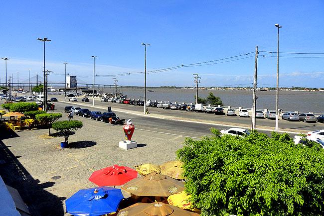 Restaurante Cacarola Aracaju vista rio