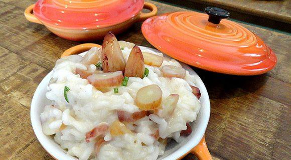 Risoto de Pinhão: um prato com a cara do frio brasileiro