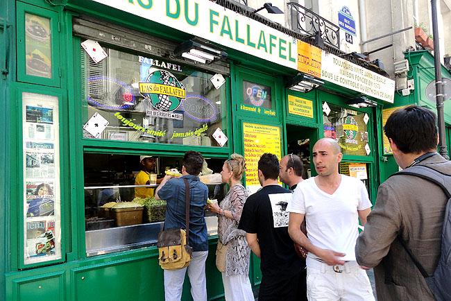 Las Du Fallafel Marais Paris 1