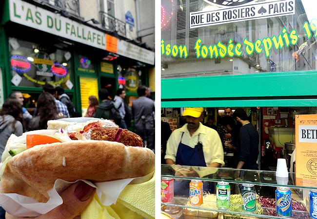 Las Du Fallafel Marais Paris Onde comer bem e barato em Paris 4