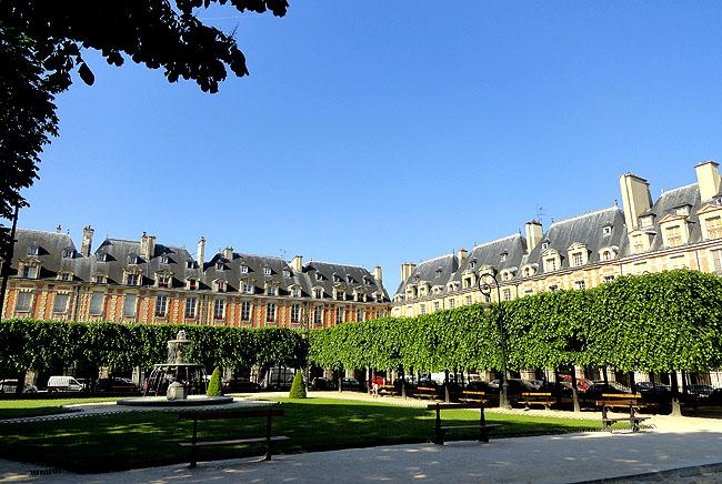 Place des Vosges Paris Turismo 05