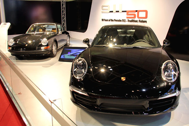 edicao especial comemorativa dos 50 anos do Porsche 911 Carrera S 1963