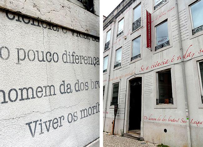 Casa Fernanda Pessoa Lisboa - Fachada