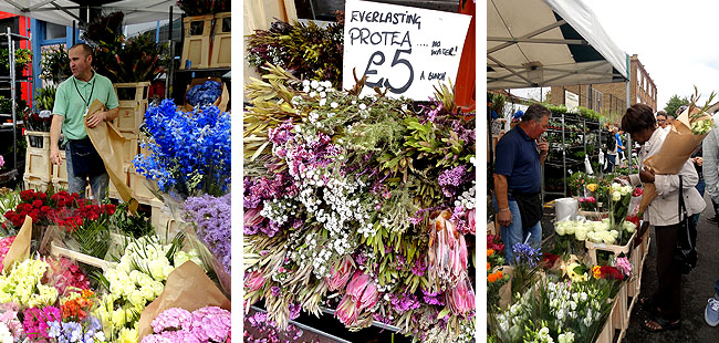 Columbia Road Flower Market - East End - 1