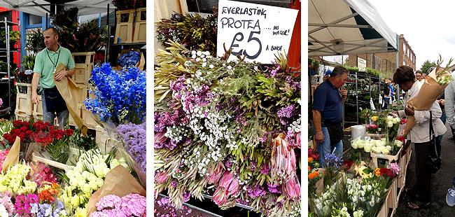 Columbia Road Flower Market - East End - 1