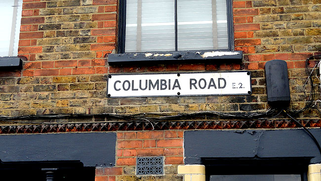 Columbia Road Flower Market - East End