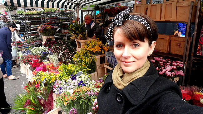 Columbia Road Flower Market Londres Silvia Oliveira
