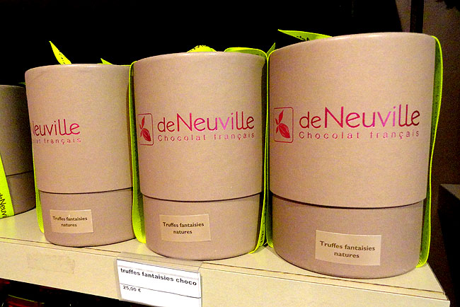 De Chocolat Neuville Marais Onde comprar chocolate Paris 01