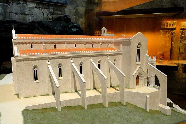 Igreja do Carmo - Maquete - Lisboa