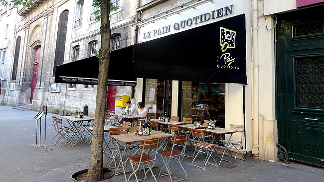 Le Pain Quotidien Boulangerie Paris 1