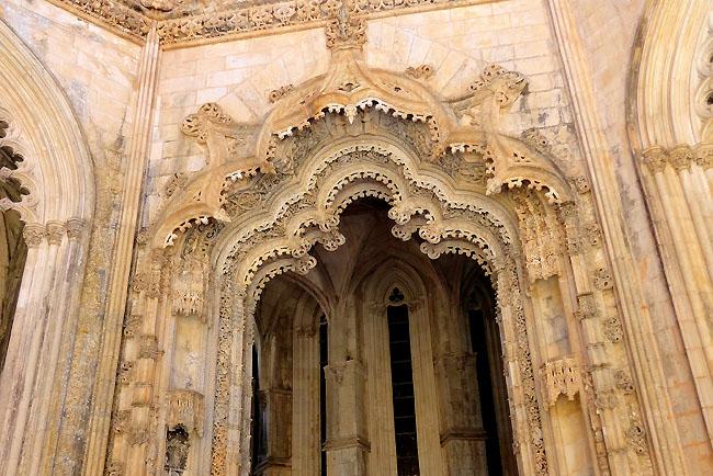 Mosteiro da Batalha Portugal Turismo Arcos Manuelinos