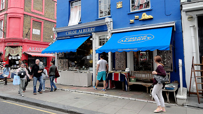 Portobello Road Market Londres Pontos Turisticos 10