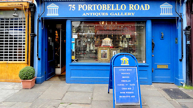 Portobello Road Market Londres Pontos Turisticos 13