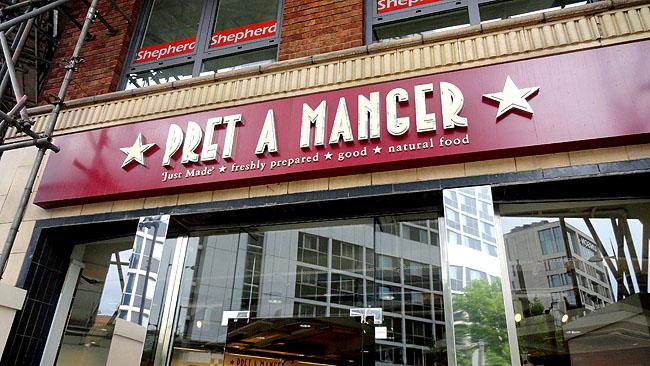 Pret a manger Onde comer bem e barato em Londres 1
