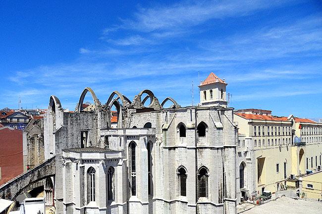 Ruinas do Carmo Lisboa - Como Chegar