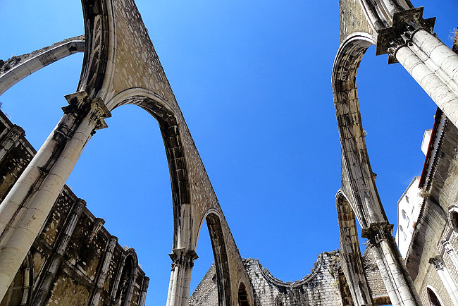 Ruinas do Carmo - Lisboa Portugal 01