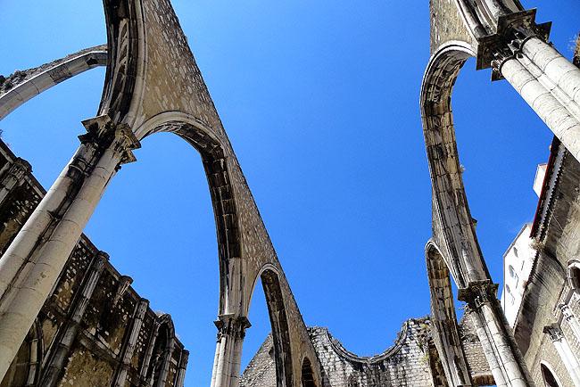 Ruinas do Carmo - Lisboa Portugal 01