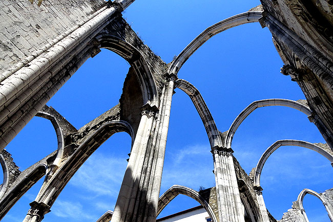 Ruinas do Carmo - Lisboa Portugal 02