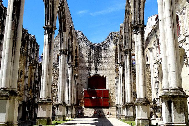 Ruinas do Carmo - Lisboa Portugal 04