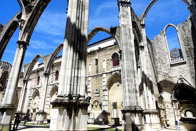 Ruinas do Carmo - Lisboa Portugal - como chegar 1