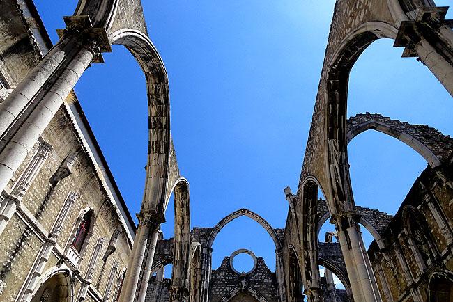 Ruinas do Carmo - Lisboa Portugal - como chegar