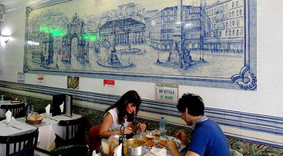 Lisboa | Taverna Imperial: restaurante bom e barato na Praça dos Restauradores