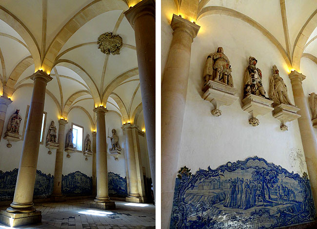 Alcobaca Portugal Azulejos