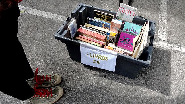 Feira da Ladra Lisboa - Livros usados