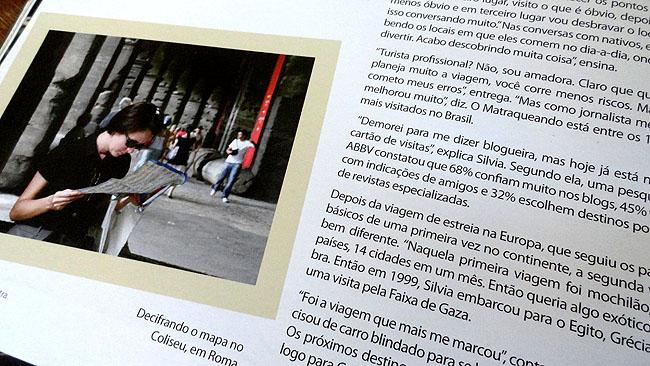 Matraqueando na Midia - Silvia Oliveira - Revista Living 1