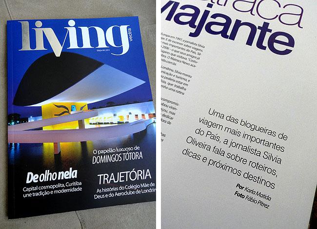 Matraqueando na Midia - Silvia Oliveira - Revista Living 5