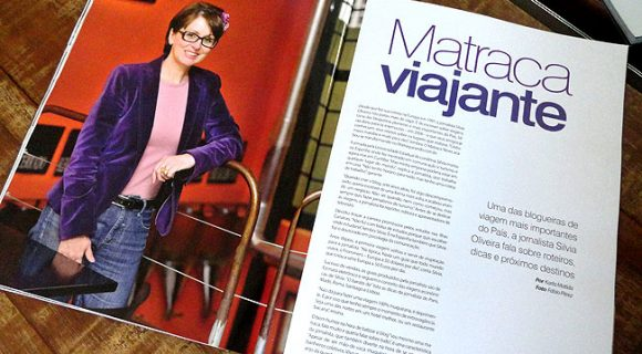 Matraca Viajante na revista Living Vectra