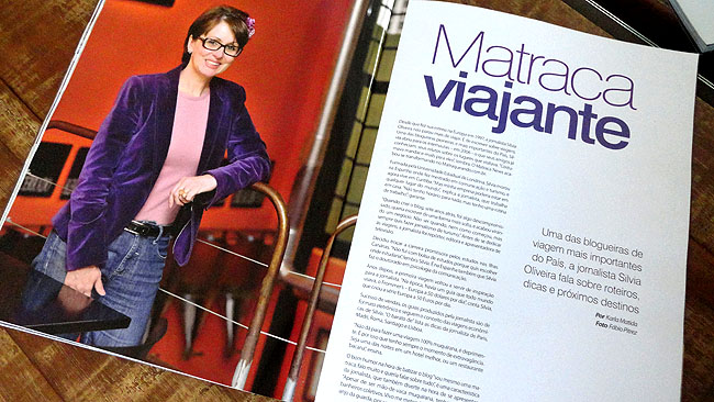 Matraqueando na Midia - Silvia Oliveira - Revista Living