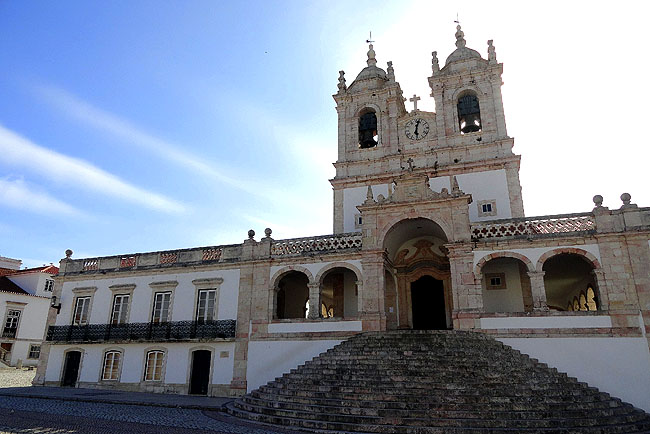 Nazare Portugal Santuario