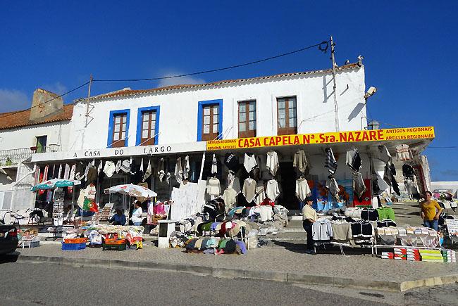 Nazare Portugal comercio
