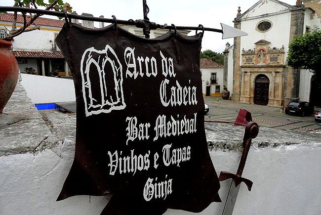 Obidos Portugal Arco da Cadeia