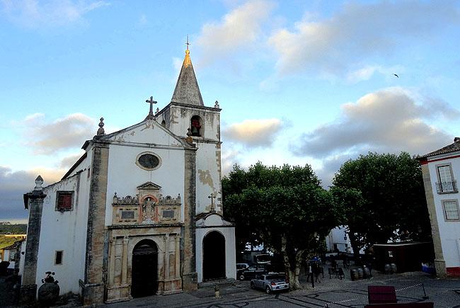 Obidos Portugal Igreja