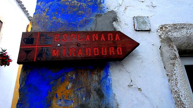 Obidos - Portugal Miradouro