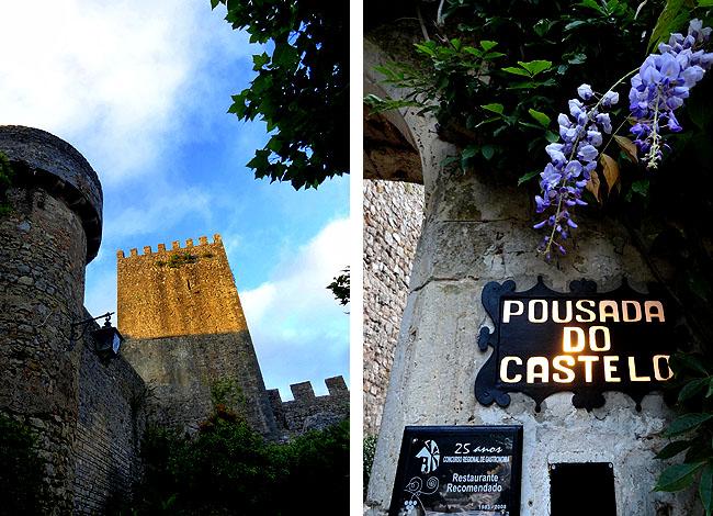 Obidos Portugal Pousada do Castelo