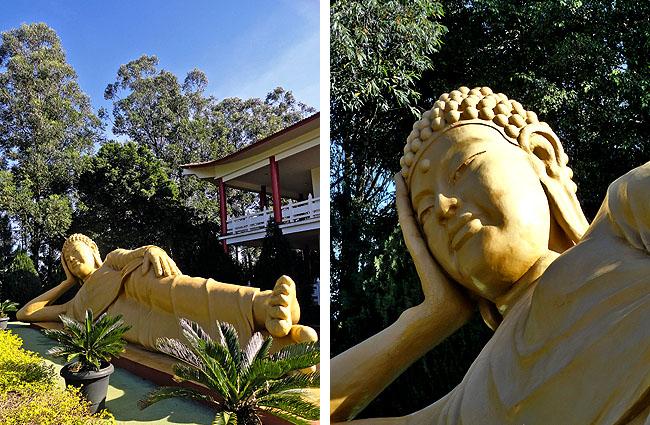 Templo Budista Foz do Iguacu Buda Deitado Dupla