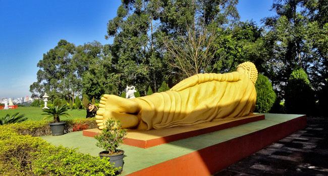 Templo Budista Foz do Iguacu Buda Deitado