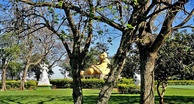 Templo Budista Foz do Iguacu Jardins