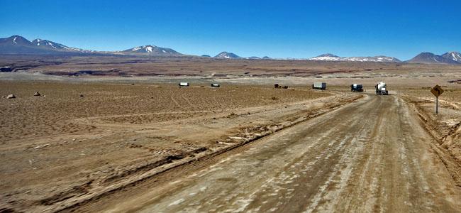 Deserto Atacama Caminhoes Ford Comboio Chile