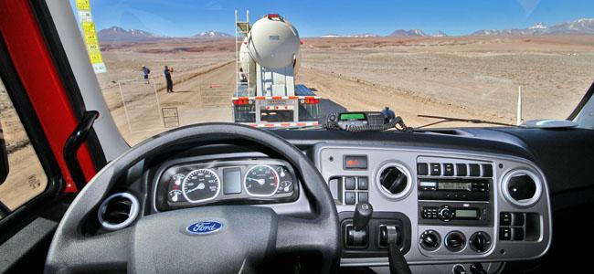 Deserto Atacama Caminhoes Ford Painel