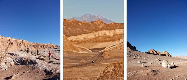 Deserto Atacama Caminhoes valles
