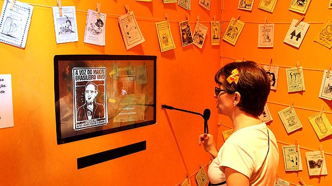 Museu da Gente Sergipana Aracaju - Literatuta de Cordel