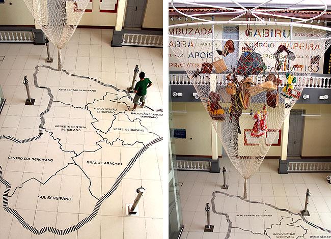 Museu da Gente Sergipana Aracaju - Mapa e Rede